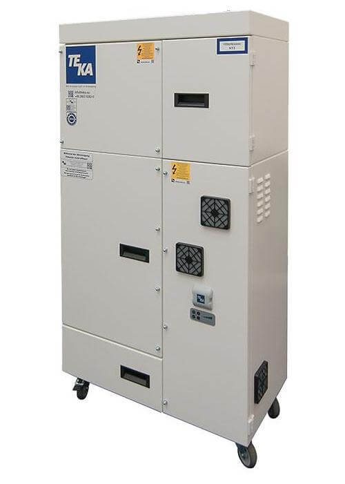 Laser Cleaning Filter Unit