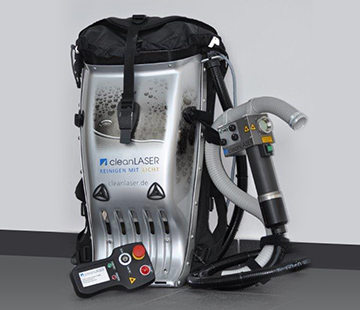 CL20 Backpack Laser Cleaner