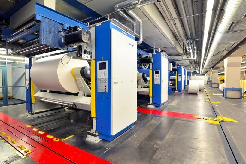 Laser Cleaning Print Roller